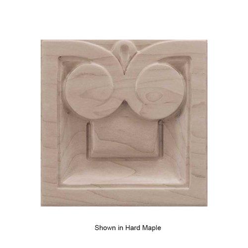 Brown Wood Medium Madeline Tile Unfinished Walnut 01902518WL1
