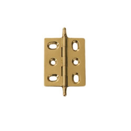 Hafele Elite Mortised Butt Hinge 50X40mm - Polished Brass 354.17.800