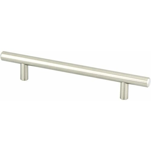Berenson Advantage Plus 7 7-3/8 Inch Length Brushed Nickel Cabinet Pull 9402-2BPN-P