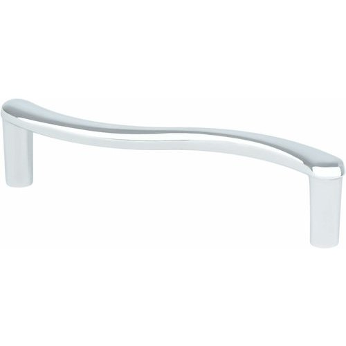 Berenson Advantage Plus 6 3-3/4 Inch Center to Center Polished Chrome Cabinet Pull 9404-4026-P