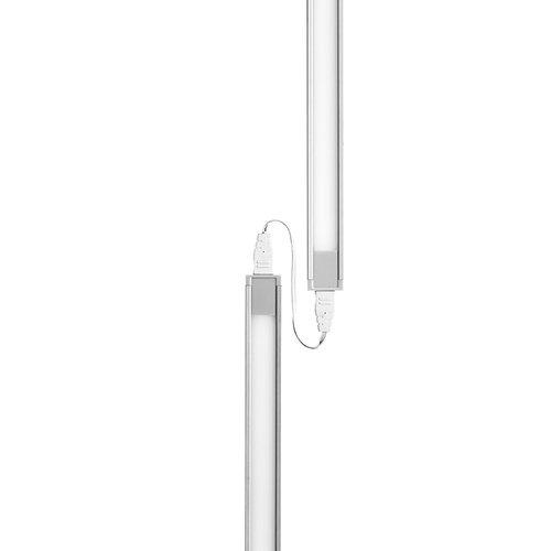 "Tresco International Tresco Eurolinx LED 19.75"" Long 3000K Aluminum L-EUL7W-502WAL-10"