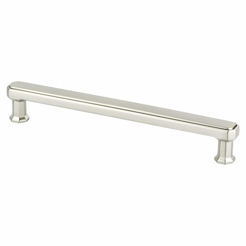 Berenson Harmony 6-5/16 Inch Center to Center Brushed Nickel Cabinet Pull 9456-1BPN-P