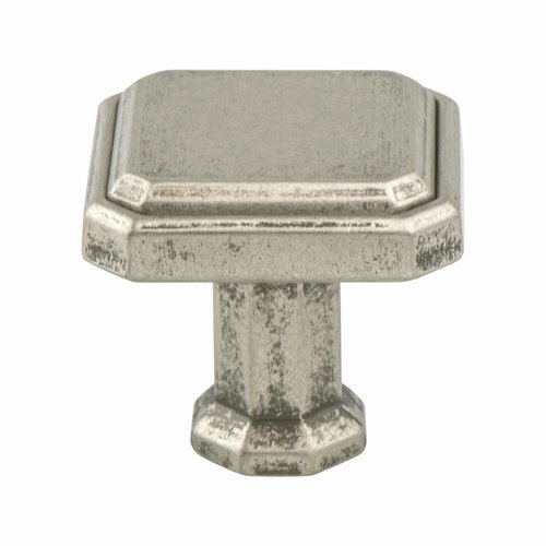 Berenson Harmony 1-3/16 Inch Length Weathered Nickel Cabinet Knob 9460-10WN-P