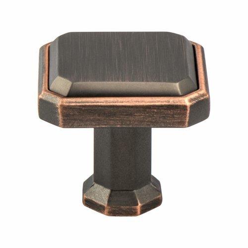 Berenson Harmony 1-3/16 Inch Length Verona Bronze Cabinet Knob 9461-10VB-P
