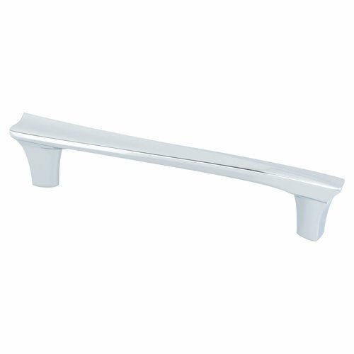 Berenson Fluidic 5-1/16 Inch Center to Center Polished Chrome Cabinet Pull 9477-1026-P