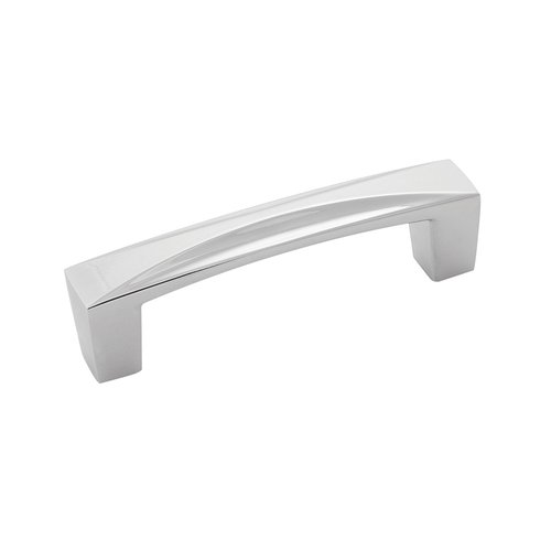 Hickory Hardware Crest Pull 3 inch Center to Center Chrome H076129-CH