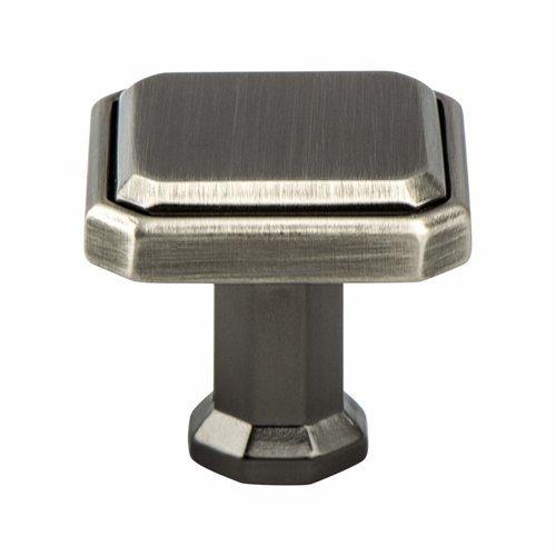 Berenson Harmony 1-3/16 Inch Length Vintage Nickel Cabinet Knob 9580-1VTN-P