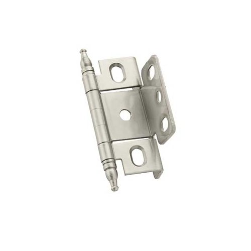 Amerock Full Inset Minaret Tip Hinge Satin Nickel - Sold Each PK3175TMG10