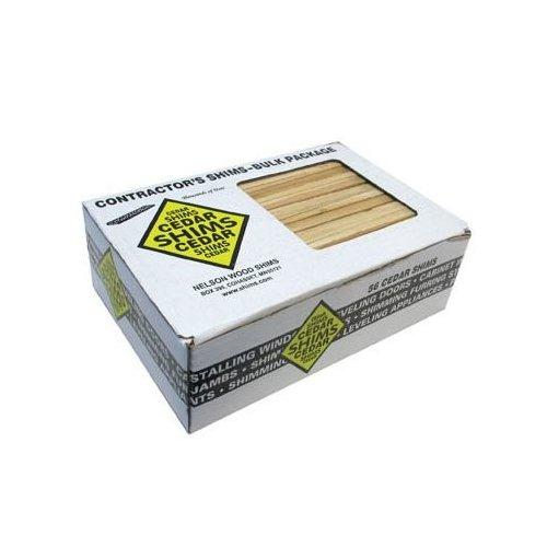 Nelson Wood Shims 8 inch x 1-1/2 inch Cedar-56/Box NWBP 56