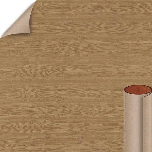 Sliced Red Oak Arborite Laminate Vert. 4X8 Velvatex W230-VL-A3-48X096