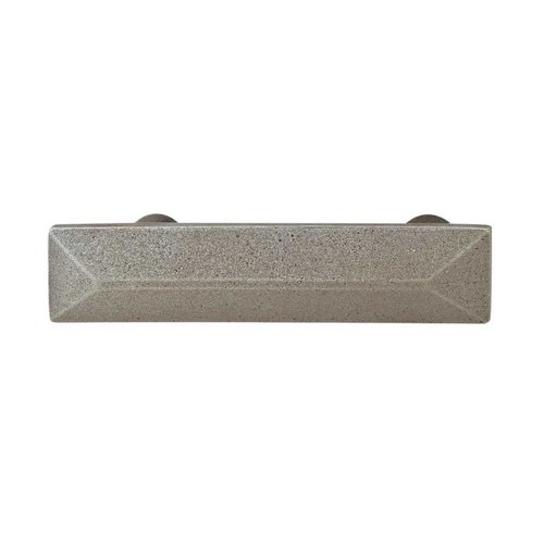 Hafele Prarie 3-3/4 Inch Center to Center Pewter Cabinet Pull 123.06.901