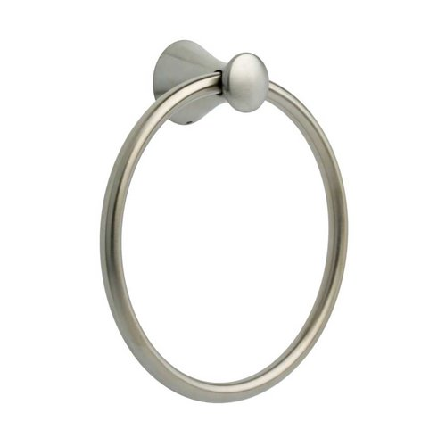 "Delta Lahara 7-1/2"" Dia Towel Ring Stainless Steel 73846-SS"