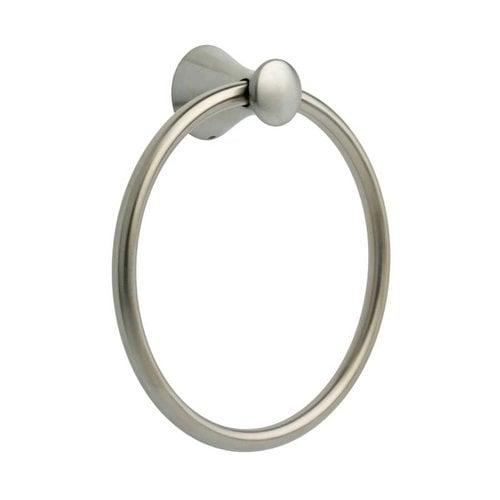 Delta Lahara 7-1/2 inch Diameter Towel Ring Stainless Steel 73846-SS