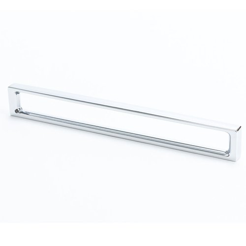 R. Christensen Dual 7-9/16 Inch Center to Center Polished Chrome Cabinet Pull 9303-1026-C