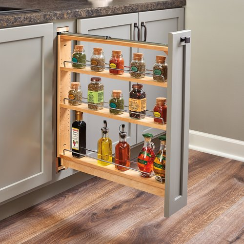 "438 Base Organizer for 6"" Base Cabinet Maple <small>(#438-BC-3C)</small>"