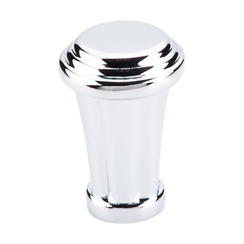 Top Knobs Luxor 7/8 Inch Diameter Polished Chrome Cabinet Knob TK195PC