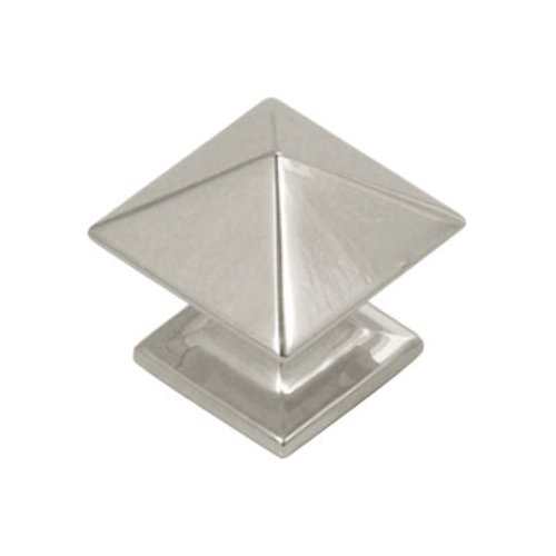 Hickory Hardware Studio 1 Inch Diameter Bright Nickel Cabinet Knob P3014-14