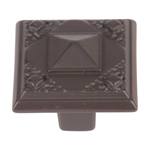 Atlas Homewares Craftsman 1-1/2 Inch Diameter Aged Bronze Cabinet Knob 257-O