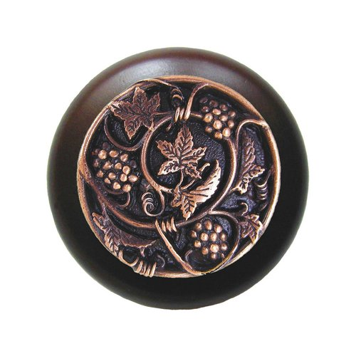 Notting Hill Tuscan 1-1/2 Inch Diameter Antique Copper Cabinet Knob NHW-729W-AC