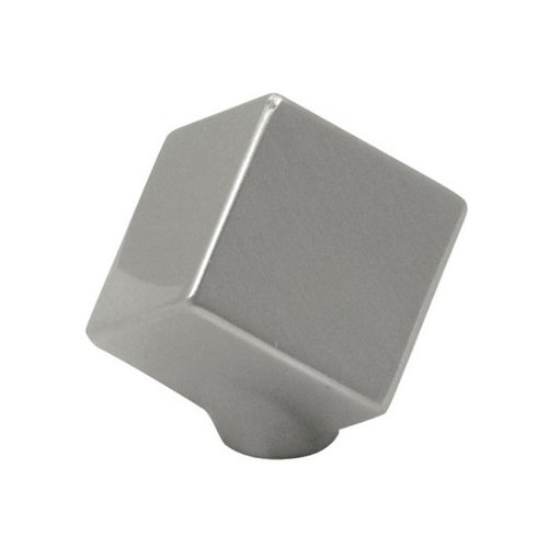 Hickory Hardware Euro-Contemporary 1-1/2 Inch Diameter Satin Nickel Cabinet Knob P2160-SN