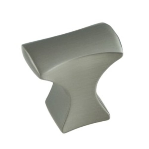 Aspire 1-1/4 Inch Length Brushed Nickel Cabinet Knob <small>(#9243-1BPN-P)</small>