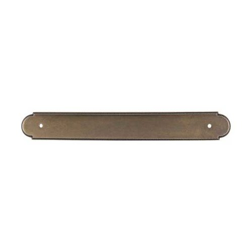 Top Knobs Appliance Pull 12 Inch Center to Center German Bronze Back-plate M868