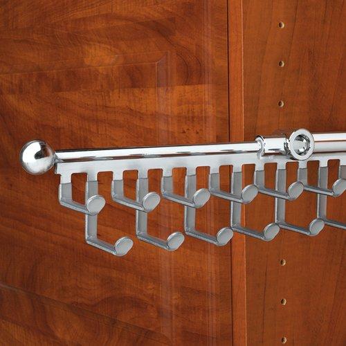 Rev-A-Shelf Tie/Scarf 12 inch Organizer Chrome CTR-12-CR