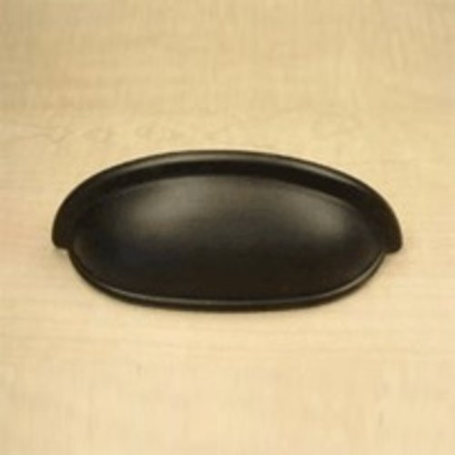 Century Hardware Yukon 3 Inch Center to Center Oil Rubbed Bronze Cabinet Cup Pull 19353-10B