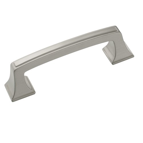 Amerock Mulholland 3 Inch Center to Center Satin Nickel Cabinet Pull BP53030G10