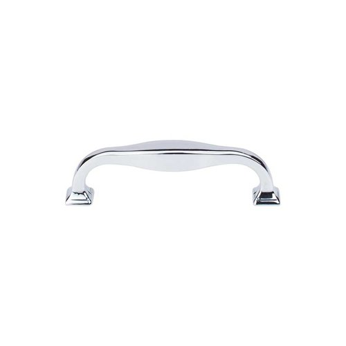 Top Knobs Transcend 3-3/4 Inch Center to Center Polished Chrome Cabinet Pull TK722PC