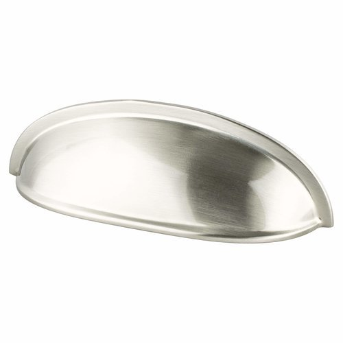 Berenson American Classics 3 Inch Center to Center Brushed Nickel Cabinet Cup Pull 9896-1BPN-P