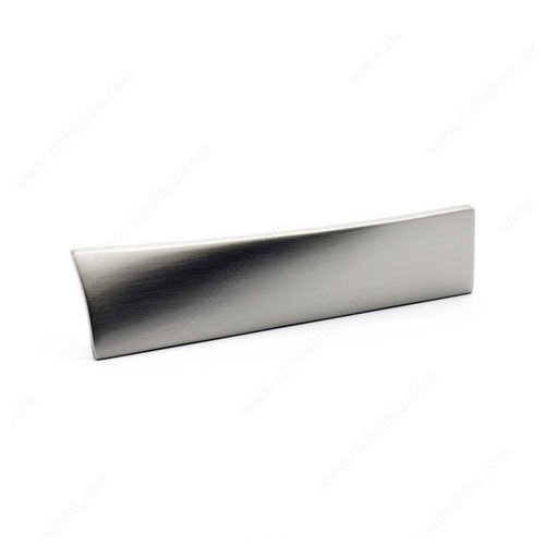 Richelieu Edge 2-1/2 Inch Center to Center Brushed Nickel Cabinet Pull 5182064195