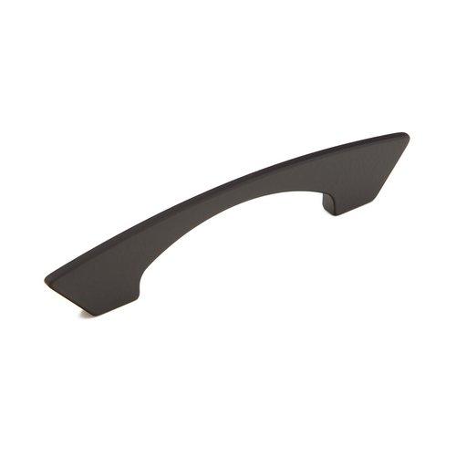 Schaub and Company Italian Designs-Profile 5-1/16 Inch Center to Center Matte Black Cabinet Pull 247-128-MB