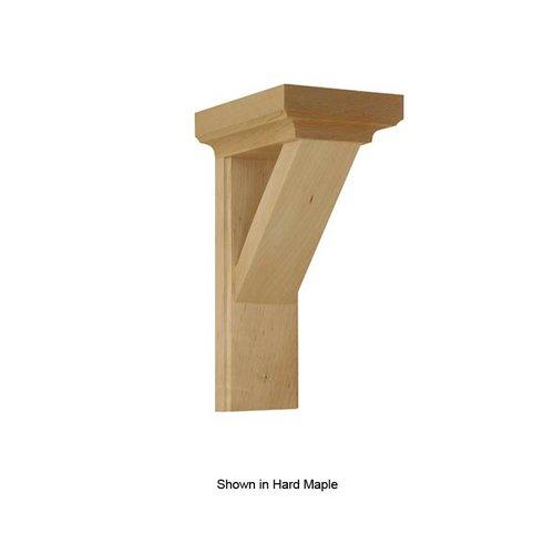 Brown Wood Arts & Crafts Bracket Unfinished Alder 01607012AL1