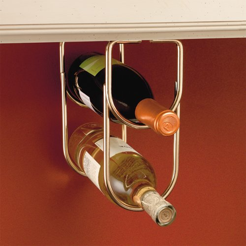 Rev-A-Shelf Double Bottle Holder - Brass 3250BR