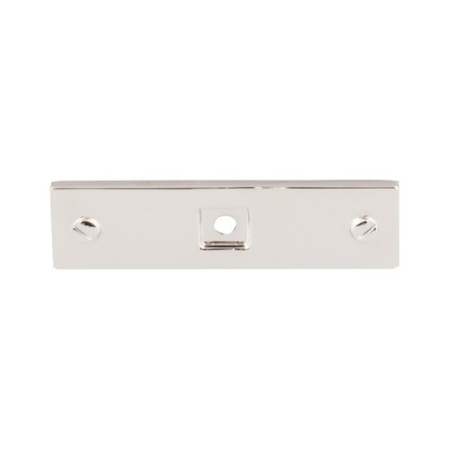Barrington 3 Inch Length Polished Nickel Back-plate <small>(#TK741PN)</small>