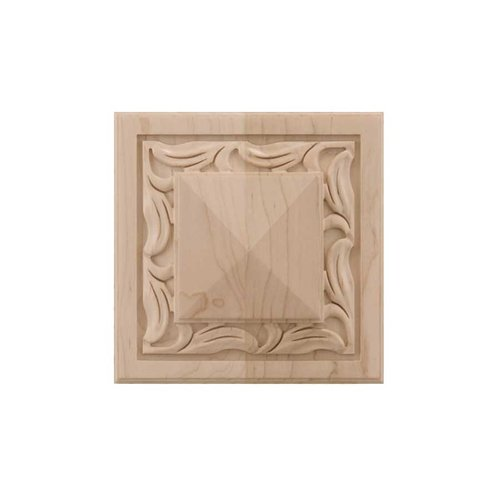 Brown Wood Large Nouveau Tile Unfinished Hard Maple 01902557HM1