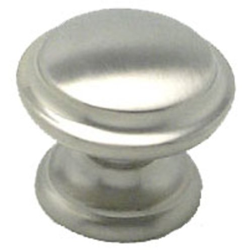 Euro Classica 1-3/8 Inch Diameter Brushed Nickel Cabinet Knob <small>(#7093-1BPN-P)</small>