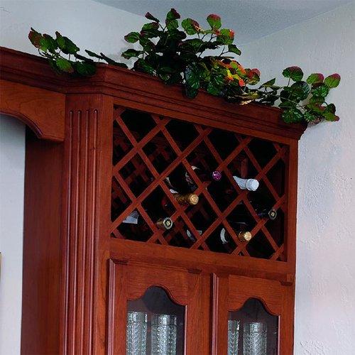 Omega National Products 17X29 Red Oak Lattice Panels L3080OUF9
