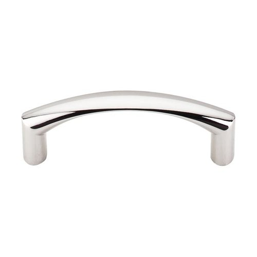 Top Knobs Nouveau 3 Inch Center to Center Polished Nickel Cabinet Pull M1704