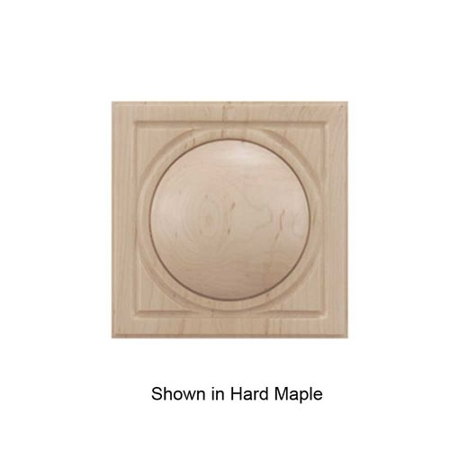 Brown Wood Small Infinity Tile Unfinished Cherry 01901038CH1