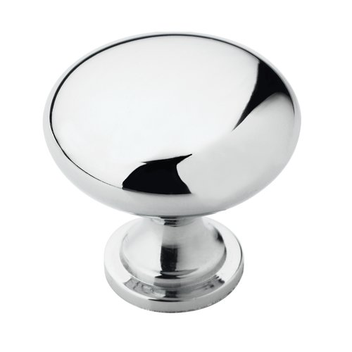 Allison Value Hardware 1-1/4 Inch Diameter Polished Chrome Cabinet Knob <small>(#BP5300526)</small>