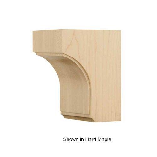 Brown Wood Small Triad Corbel Unfinished Walnut 01607007WL1