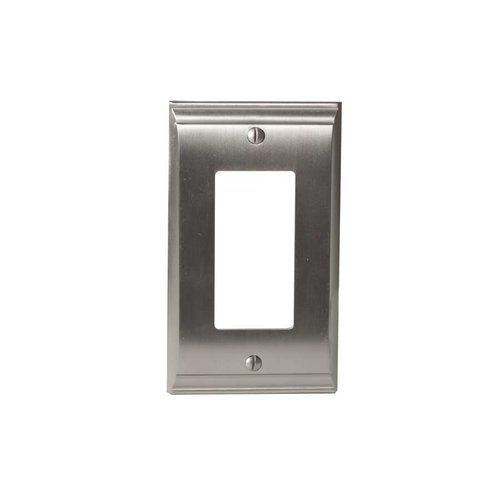Amerock Candler One Rocker Wall Plate Satin Nickel BP36504G10