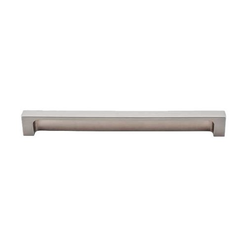 Top Knobs Sanctuary II 8 Inch Center to Center Brushed Satin Nickel Cabinet Pull TK277BSN