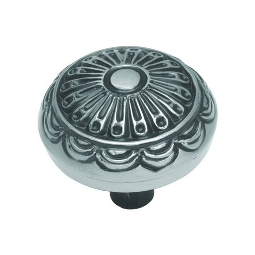 Hickory Hardware Southwest Lodge 1-1/4 Inch Diameter Silver Medallion Cabinet Knob P391-SM