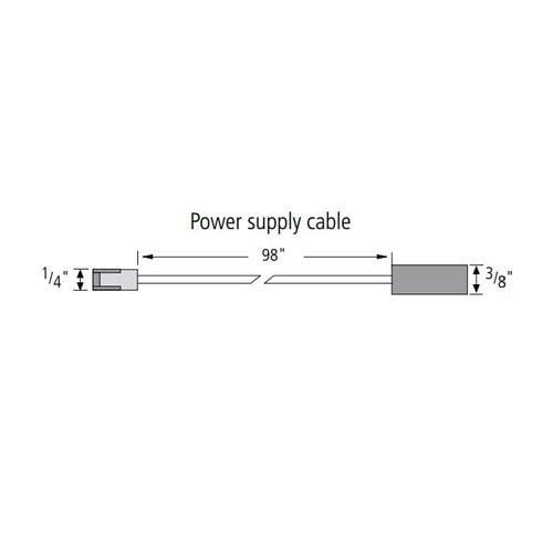 Hera Lighting Stick2-LED Power Supply Cord STICKPC