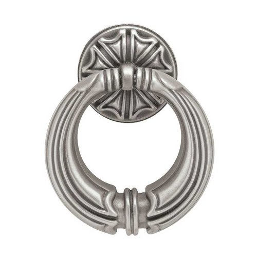 Liberty Hardware French Romantics 2-7/16 Inch Diameter Brushed Satin Pewter Cabinet Ring Pull PBF136-BSP-C