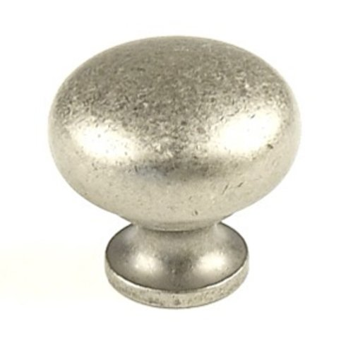 Hartford 1-1/4 Inch Diameter Aged Pewter Cabinet Knob <small>(#12405-AP)</small>
