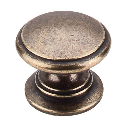 Top Knobs Somerset 1-1/4 Inch Diameter German Bronze Cabinet Knob M355